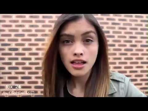 Kaşlarını Oynatan Kızdan Gangnam Style