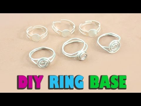 DIY Homemade Ring Base - Jewelry Crafts