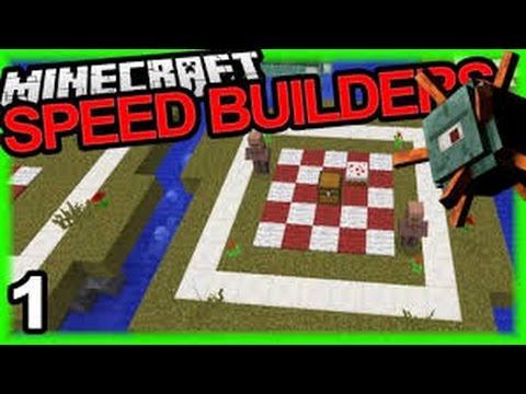 Minecraft: Speed Builders #1 w/Nahid