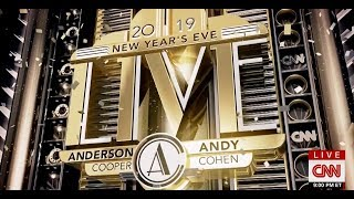 CNN New Year's Eve Live 2019