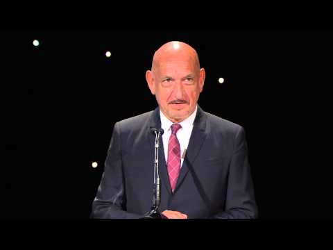 Sir Ben Kingsley Speaks at Our 2014 Los Angeles Dinner