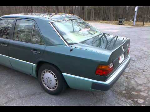 1993 Mercedes Benz 300D 2.5 Turbo Diesel For Sale