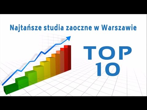 Studia Warszawa - TOP 10 - Najtańsze Studia Zaoczne W Warszawie W 2016r.