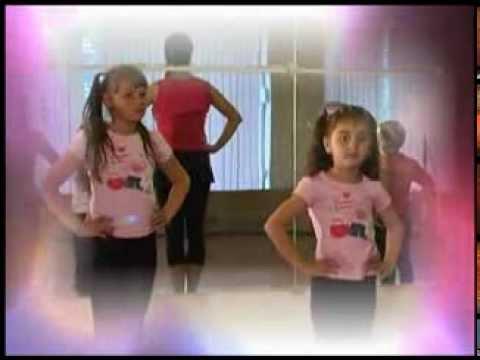 Уроки танцев для девочек - видео