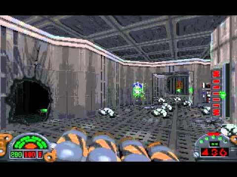 Dark Forces level 6 detention center