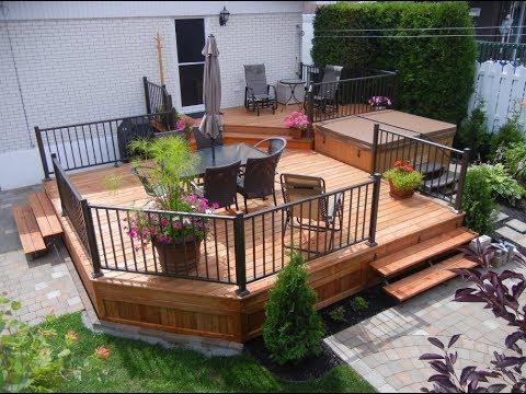 St phane audet paysagiste projet de patio et d for Amenagement patio