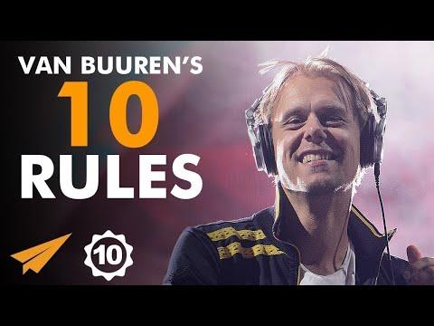 Find Your Own IDENTITY! - Armin van Buuren (@arminvanbuuren) - Top 10 Rules