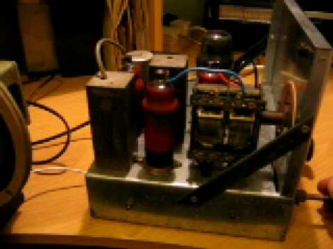 valve radio home made
