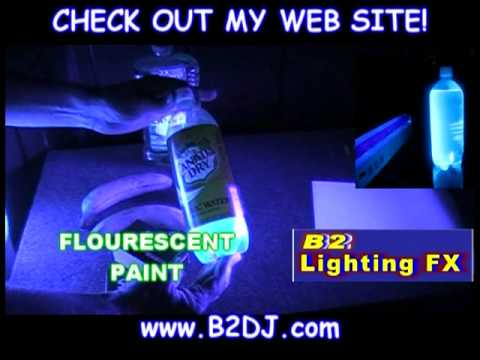 Clothes In Black Light