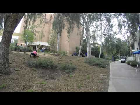 Time Lapse - UCR Staff Assembly Campus Makeover - 2014
