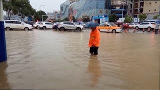Heavy rain batters China's Guizhou Province