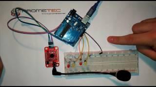 Arduino y reconocimiento de voz