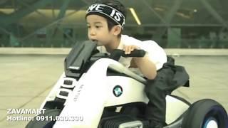 Siêu xe điện mini trẻ em  Bedogie BMW Hurricane 3 bánh cho bé giá chỉ 2tr5