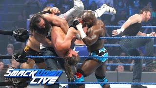 Download 10-Man Battle Royal to face WWE Champion at WrestleMania: SmackDown LIVE, Feb. 21, 2017 3Gp Mp4