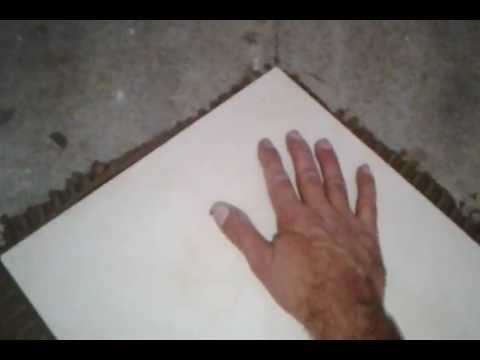 4Video COLOCANDO CERAMICAS NA PERFEITA DIAGONAL- (putting floors in perfect diagonal video 04)