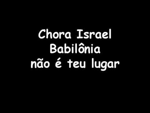 Maelshaday - Playback e Legenda - Lamento de Israel - Sérgio Lopes