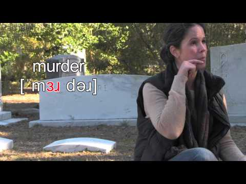 How to Say MURDER — American English Pronunciation