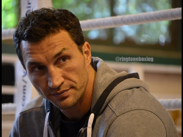 Wladimir Klitschko v Alexander Povetkin Open Training, Austria, 17th September 2013
