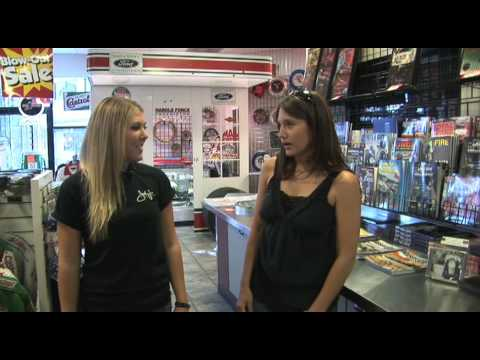 Ashley Force Hood goes shopping Video