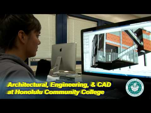 Architecture, Engineering, and CAD at Honolulu Community College