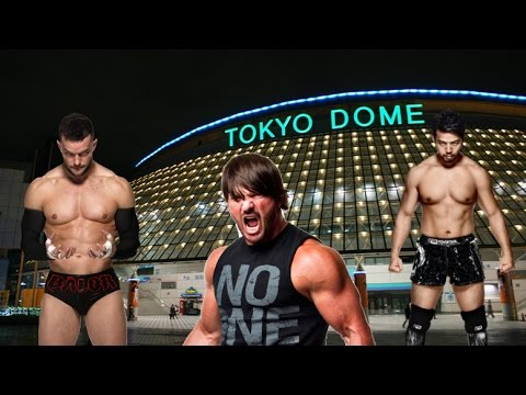 WWE 2K16 (Aj Styles Career) - Episode 5 - Epic Match At The Tokyo Dome!!!