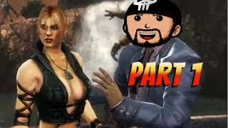 Super Best Friends Watch Mortal Kombat 9 (Part 1)