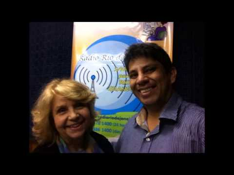 Programa Novos Rumos - Entrevista com Luis Hu Rivas na Radio Rio de Janeiro