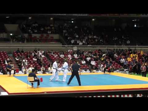 Lechi Kurbanov vs Wahyu Purnomo @ 10th World Open Kyokushin Karate Tournament Image 1