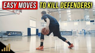 How to: EASY MOVES To KILL Your Defenders in Basketball! 😳