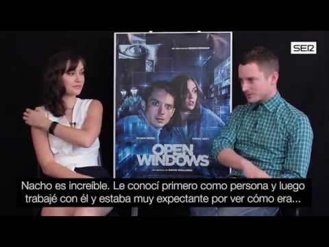 Elijah Wood Y Sasha Grey Juegan Al Gato Y Al Ratón En 'open Windows'. Cadena Ser video