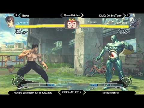 CEO2012 - SSF4 AE Salty Suite Money Matches! 2/2