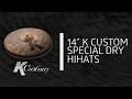 "Zildjian Sound Lab - 14"" K Custom Special Dry HiHats"