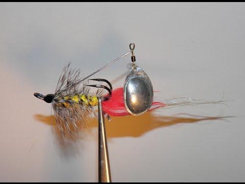 нахлыстовая муха для ловли окуня