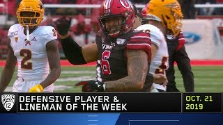 Utes' Bradlee Anae named Pac-12 Defensive Player and Lineman of the Week