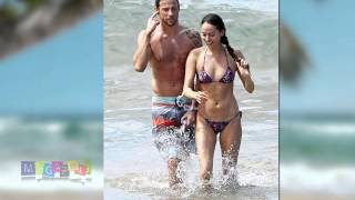 Jessica Michibata and Jenson Button enjoying each other´s company in Hawaii. Oct 2014