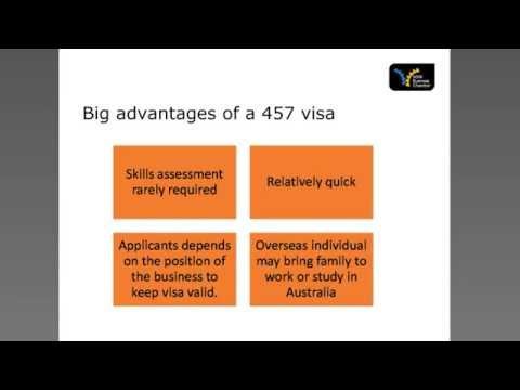 457 Visa Review Report - Webinar Sydney Migration & NSW Chamber of Commerce