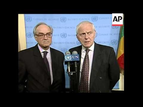 UN Ambassadors comment on new Iran resolution