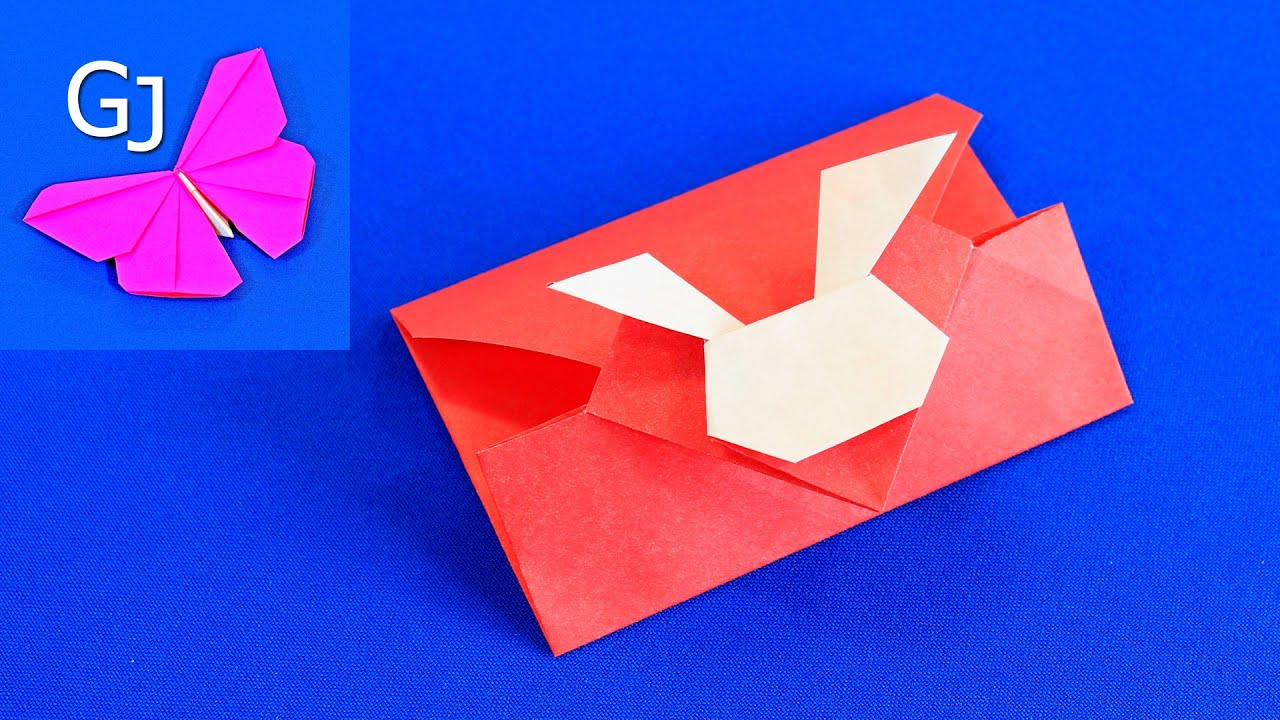 Оригами из бумаги объемная открытка
