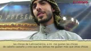 OMAR BORKAN AL GALA,  EL HOMBRE MÁS GUAPO DEL MUNDO