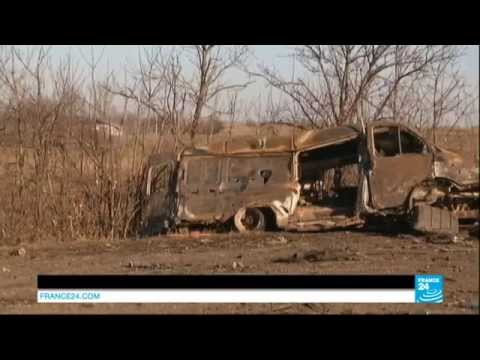 UKRAINE - Ceasefire violated as war rages on