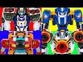ToBot V Speed Monster Rocket Captain Police 4 Vehicles Toy Transformation