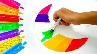 Chị Google Dạy Bé Màu Sắc Tiếng Anh Bằng Tô Màu Đoán Hình Trò Chơi Trẻ Em #31