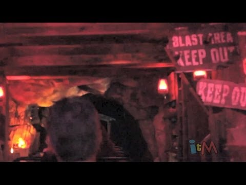 FULL Big Thunder Mountain Railroad ALL new special effects POV at Disneyland (2014)