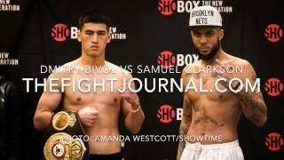 DMITRY BIVOL VS SAMUEL CLARKSON TONIGHT ON SHOWTIME SHOBOX @10PM - MGM NATIONAL HARBOR!