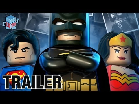 LEGO Batman 2 DC Super Heroes Wii U Official Trailer