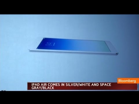 Apple Introduces the New iPad Air