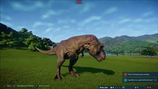 Jurassic World Evolution - The Mighty T Rex Arrives.