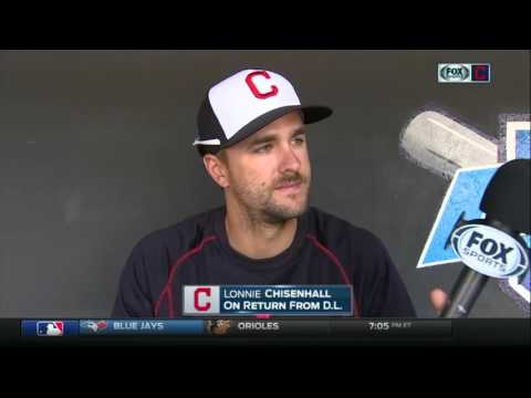 Lonnie Chisenhall discusses what he'll bring in his return to Cleveland Indians lineup