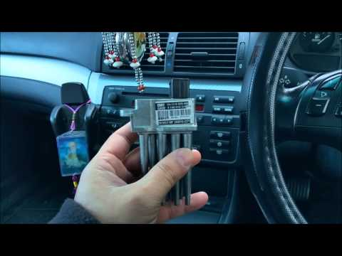 DIY BMW E46 Blower motor Resistor. Final Stage Unit replacement
