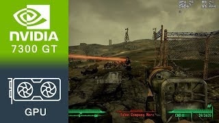 Fallout 3 Gameplay GeForce 7300 GT